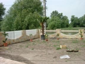 Kertépítés Dunaharaszti